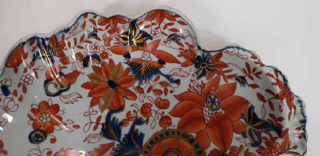 Pair of Ironstone Sweet Meat Dishes, 19th c. - 6