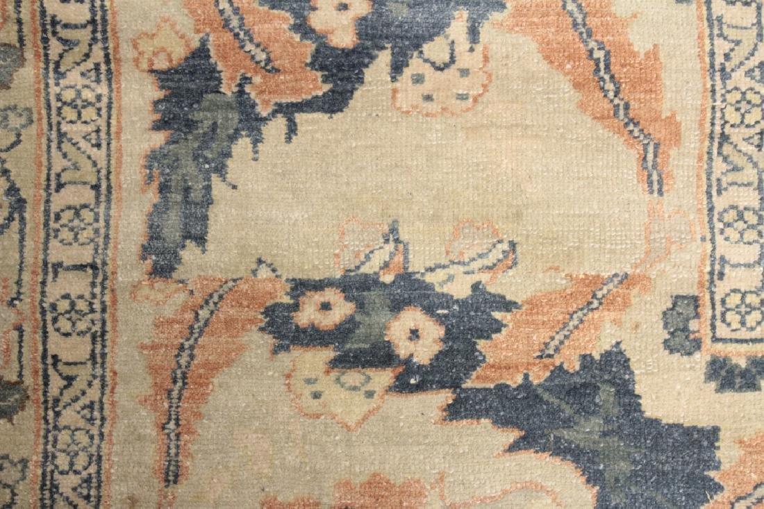 Oversized Egyptian Carpet, Pale Blue Field w Flowers - 5