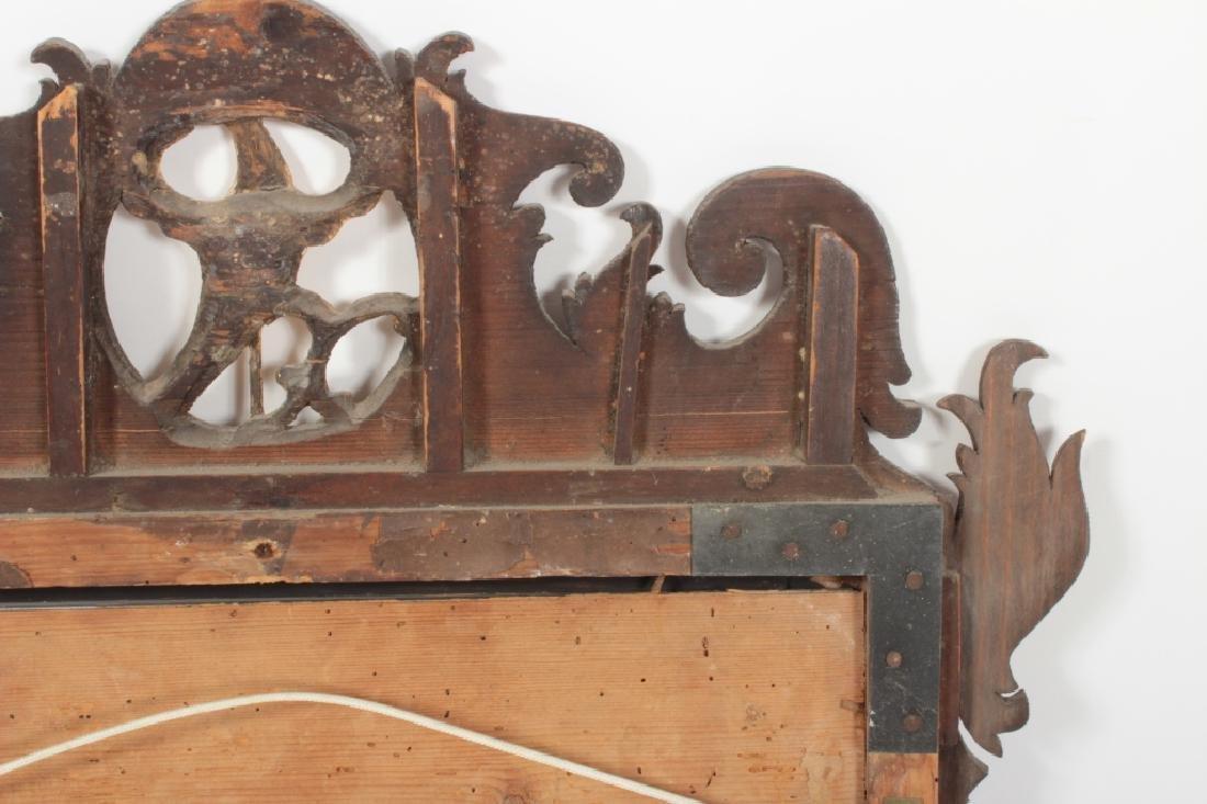 Chippendale Mahogany Mirror, English, 1760 - 10