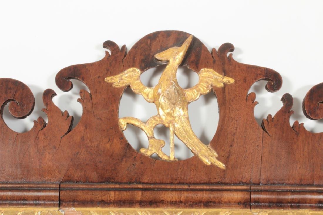 Chippendale Mahogany Mirror, English, 1760 - 2