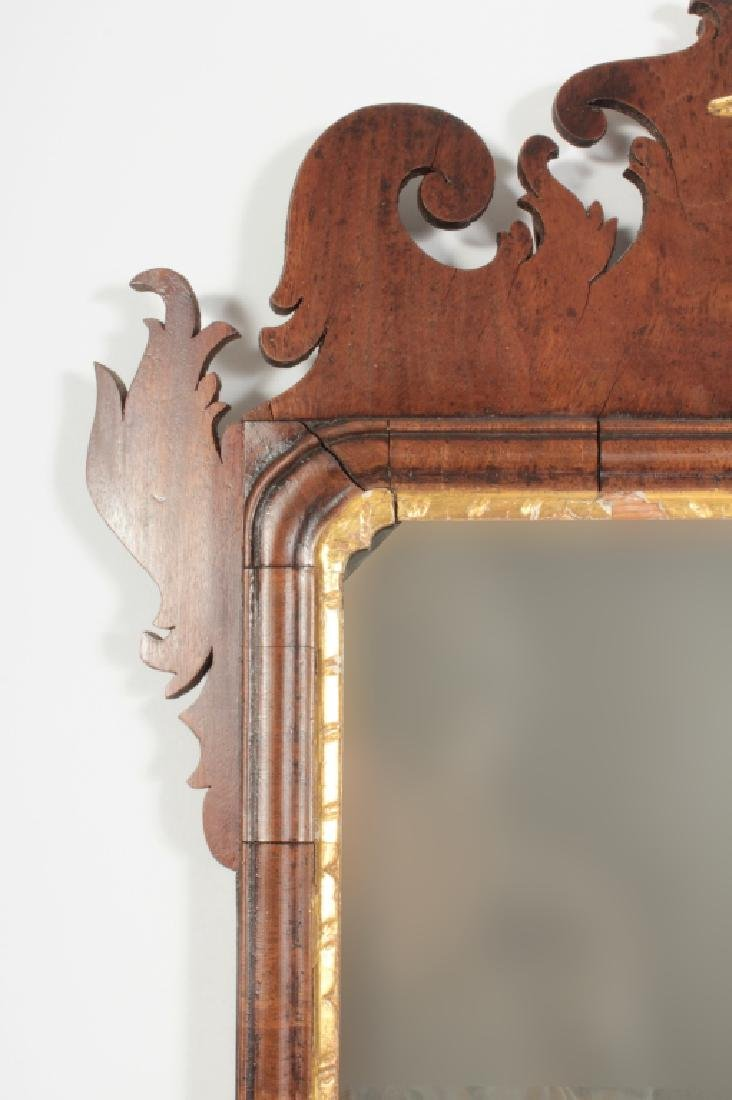 Chippendale Mahogany Mirror, English, 1760 - 4