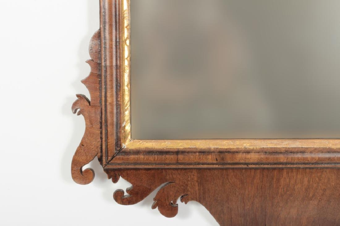 Chippendale Mahogany Mirror, English, 1760 - 5