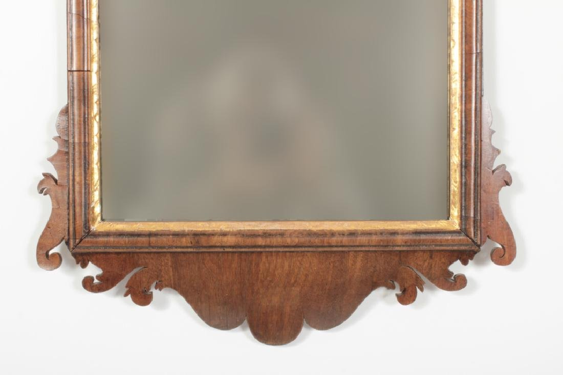 Chippendale Mahogany Mirror, English, 1760 - 7