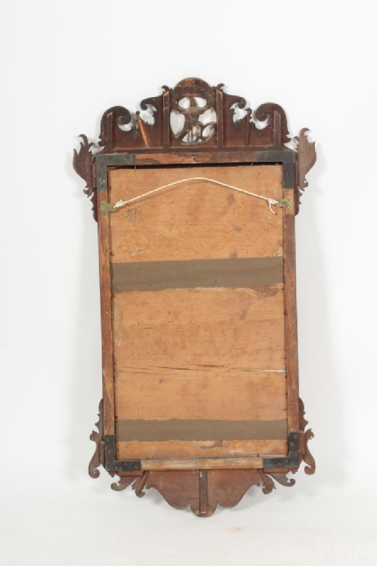 Chippendale Mahogany Mirror, English, 1760 - 9