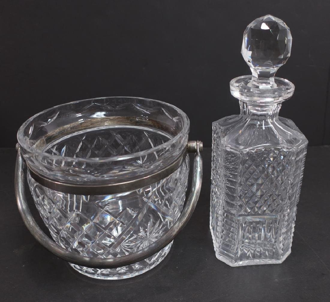 Lot of 7: Waterford Crystal Bar Ware, Decanters - 4