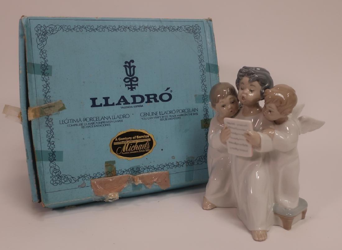 Lladro Figurine, Grupo de angeles - 2