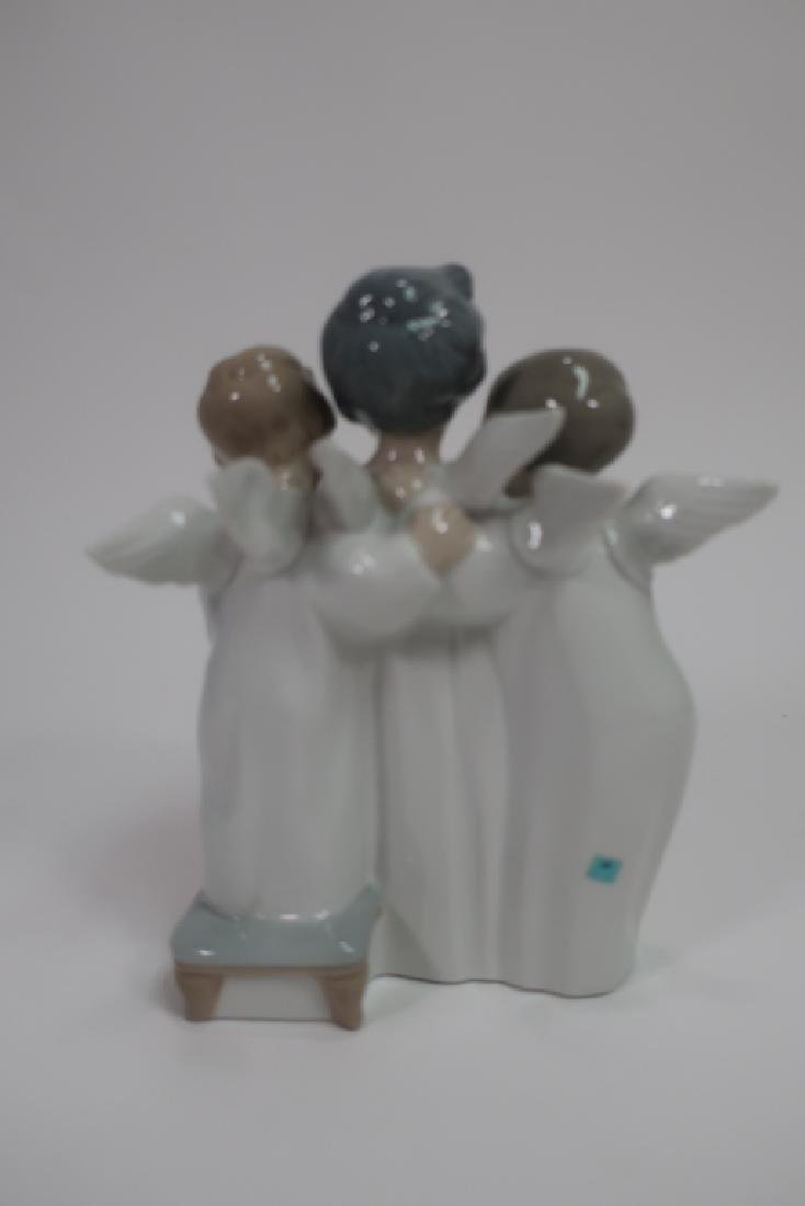 Lladro Figurine, Grupo de angeles - 4