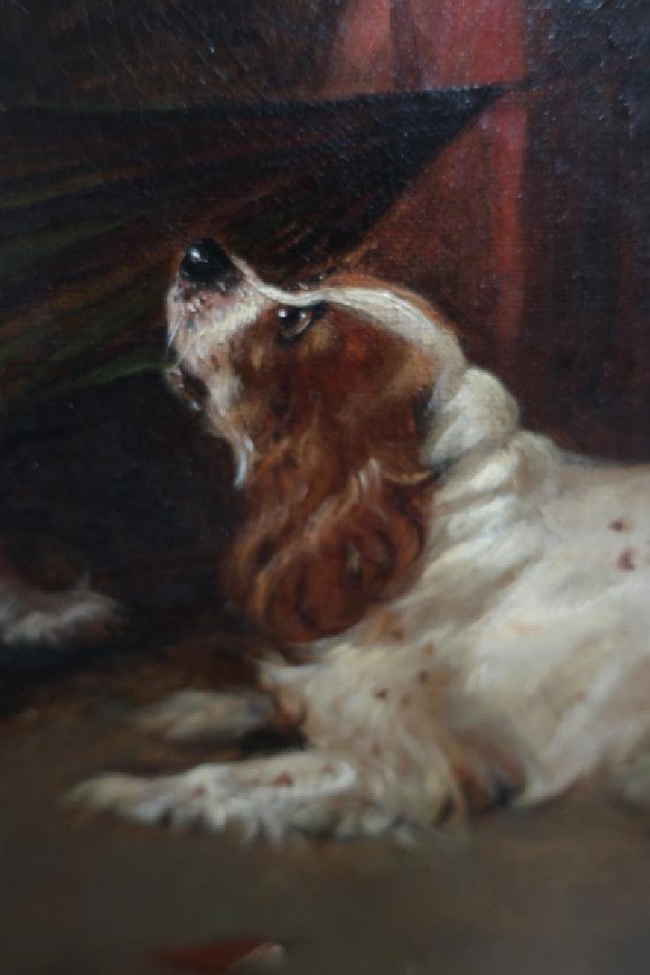 "Attr George Armfield ""Up to Mischief"" Spaniels O/C - 4"