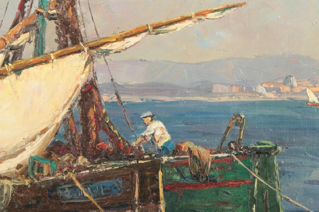 Andre Berroneau, 1886-1973, Fishing Boat o/c - 3