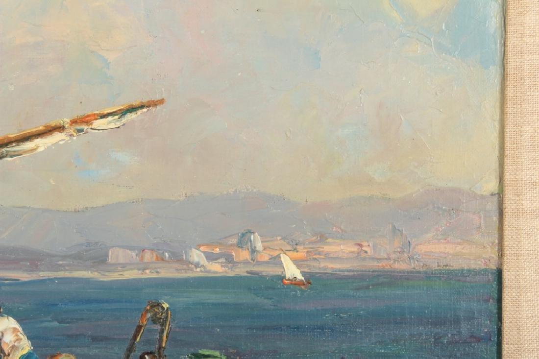 Andre Berroneau, 1886-1973, Fishing Boat o/c - 4