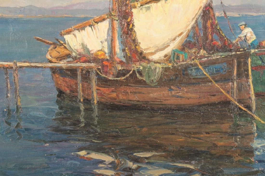 Andre Berroneau, 1886-1973, Fishing Boat o/c - 5