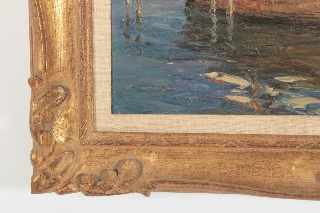 Andre Berroneau, 1886-1973, Fishing Boat o/c - 6