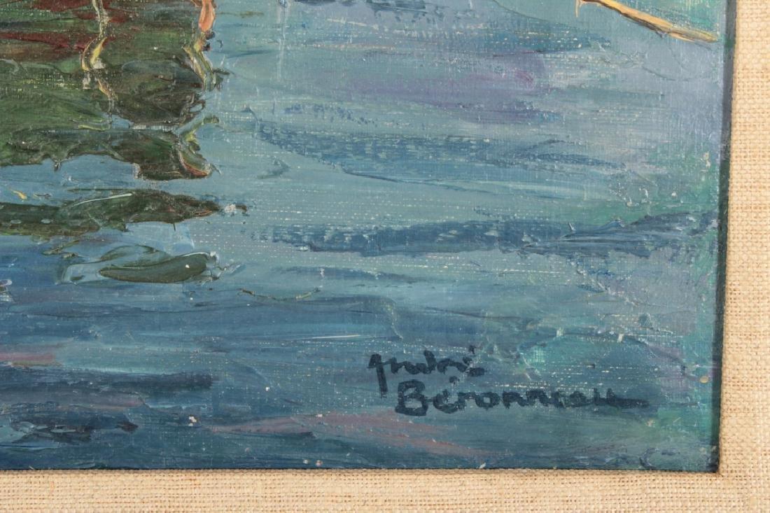 Andre Berroneau, 1886-1973, Fishing Boat o/c - 7