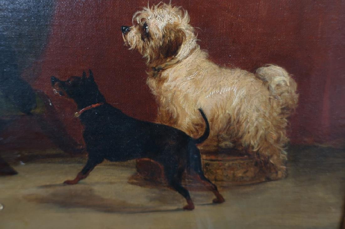 Attr George Armfield Master's Chair (3 Dogs) O/C - 4