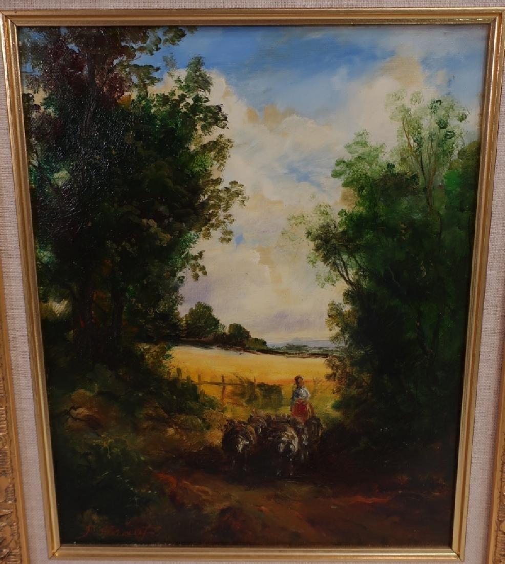 Pair of Landscape Paintings, 20/21st C. - 2