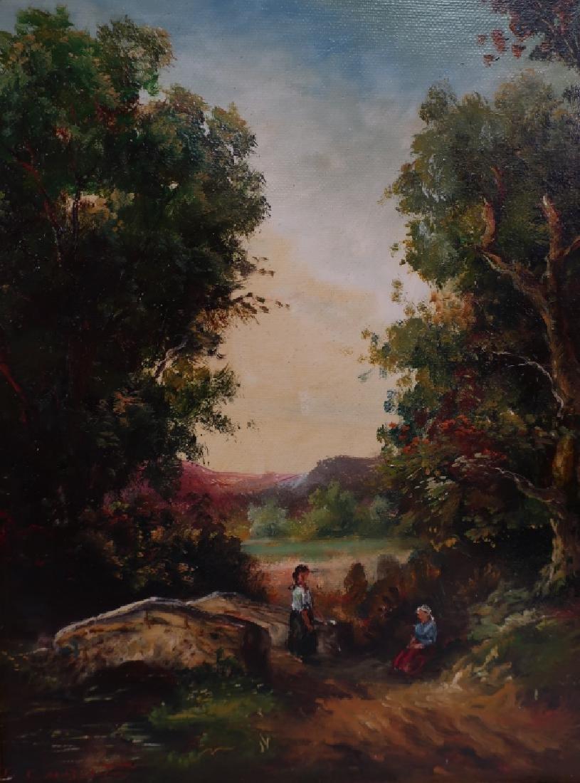 Pair of Landscape Paintings, 20/21st C. - 5