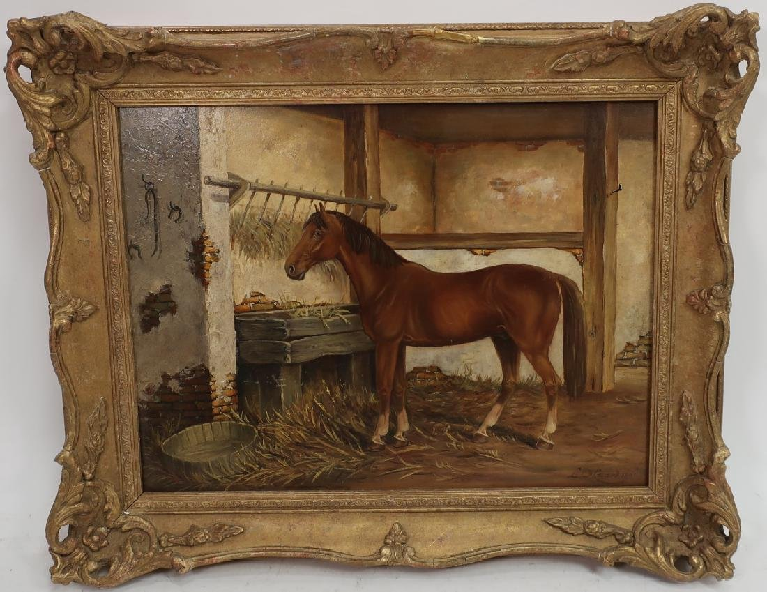 Lowes Dalbiac Luard, UK, Chestnut in Stable, O/P