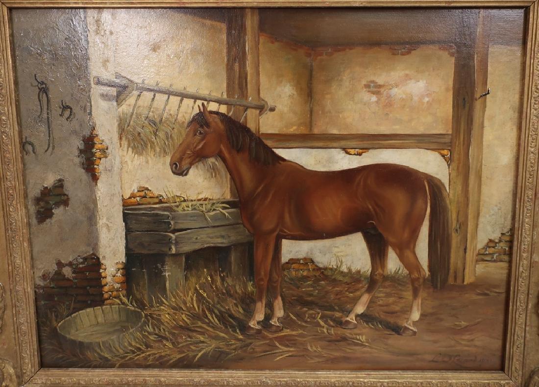 Lowes Dalbiac Luard, UK, Chestnut in Stable, O/P - 2