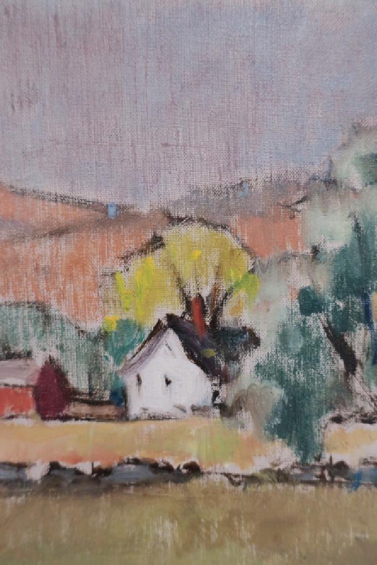 Harold C. Wolcott, Am., Autumn Landscape, O/C - 2