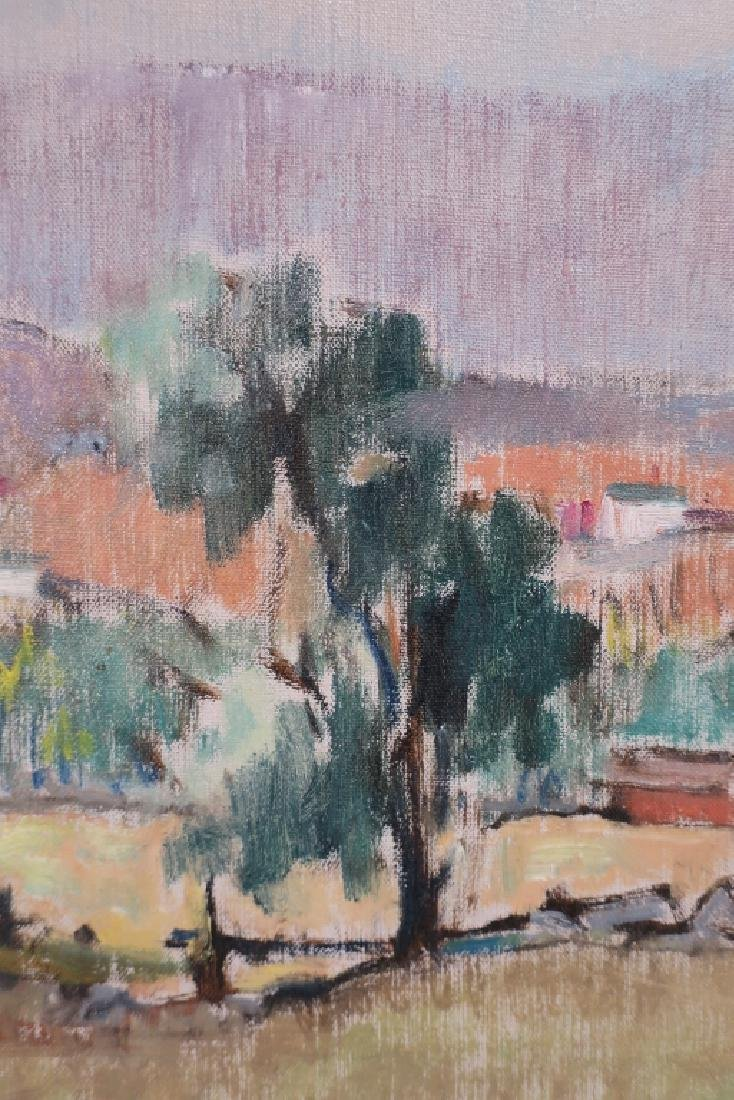Harold C. Wolcott, Am., Autumn Landscape, O/C - 3