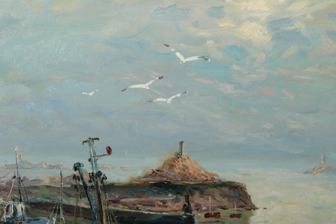 "Jean Kevorkian, b. 1933, ""Luguivy de la Mer"" o/c - 4"