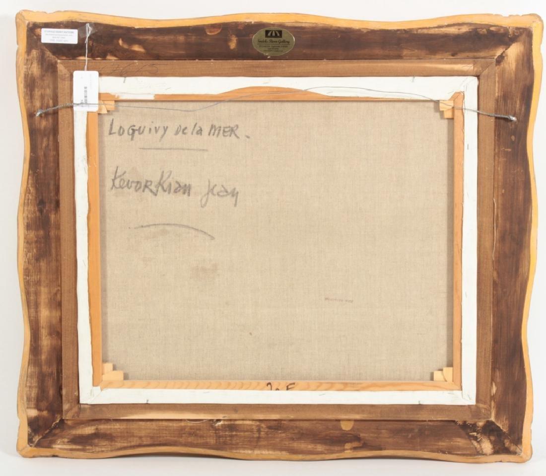 "Jean Kevorkian, b. 1933, ""Luguivy de la Mer"" o/c - 8"