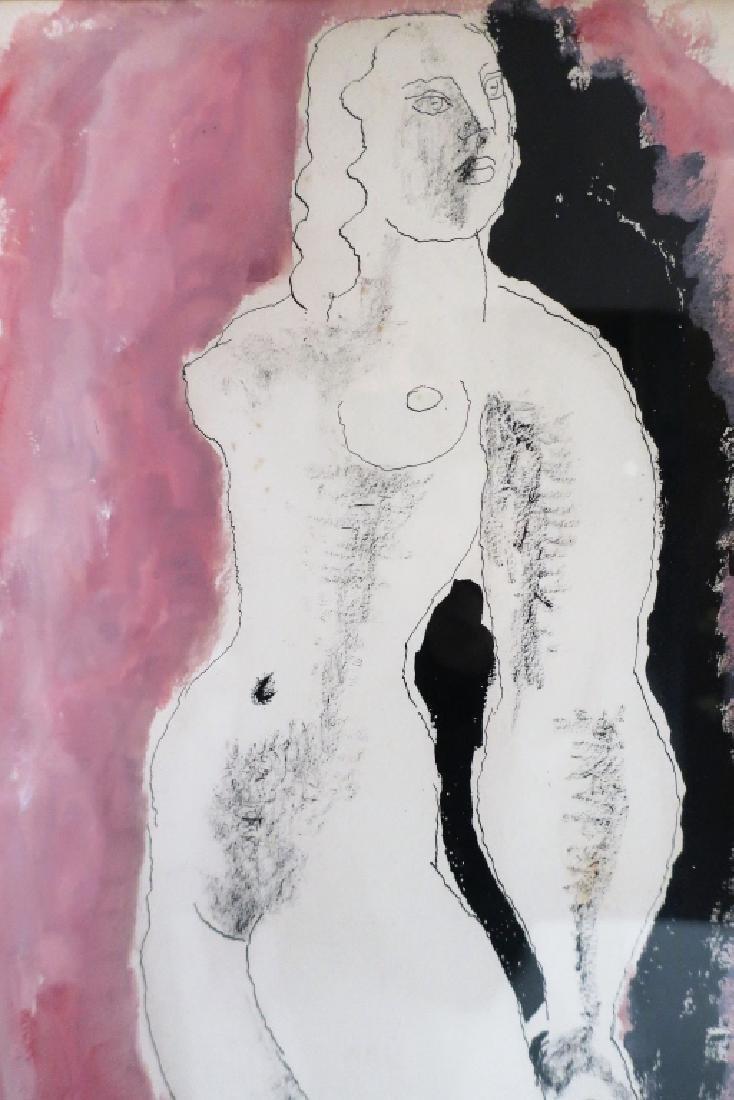 Frank Dobson, UK, 1888-1963, Nude , W/C, 1936 - 3