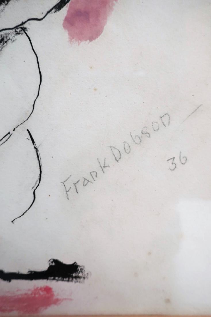 Frank Dobson, UK, 1888-1963, Nude , W/C, 1936 - 5