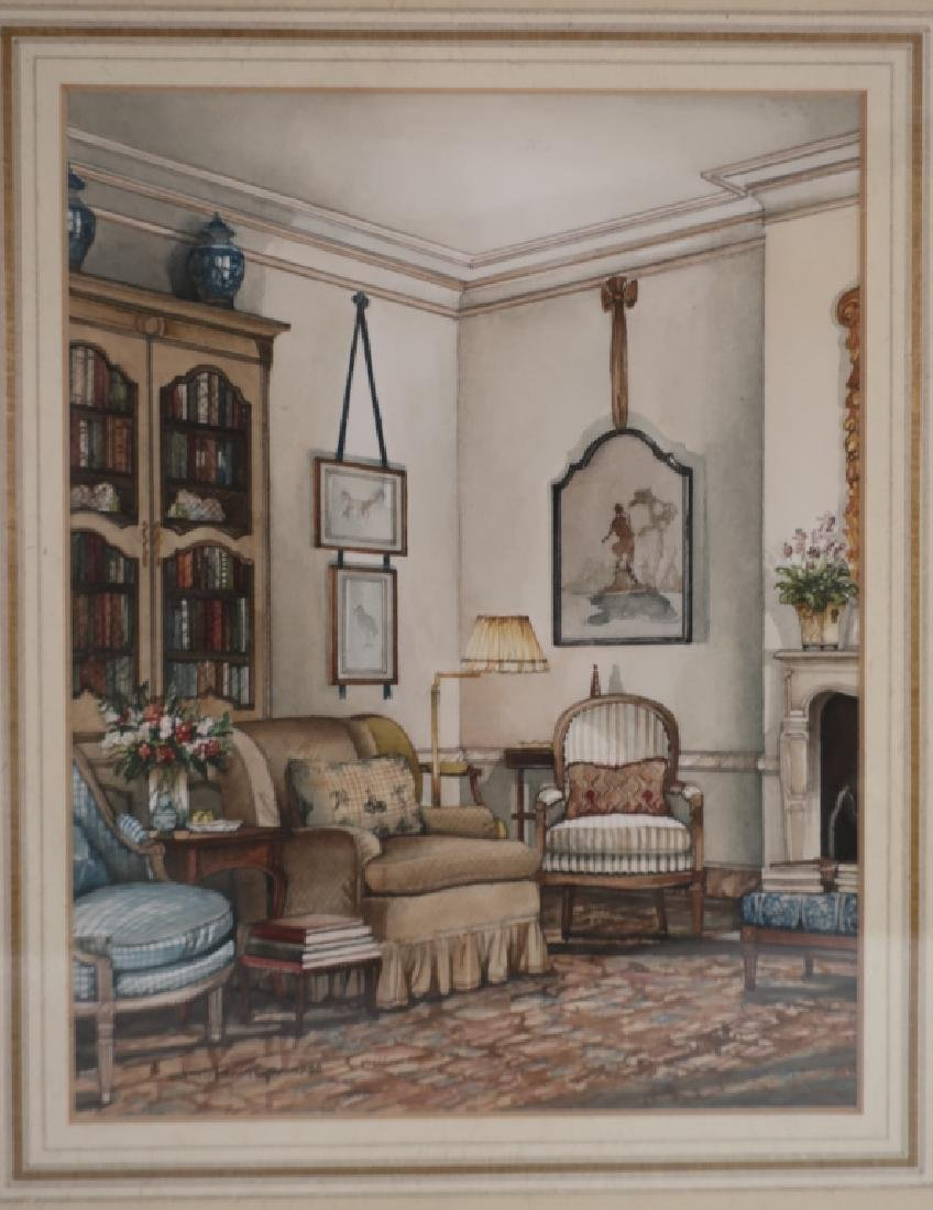 James M Steinmeyer,  Am. Elegant Interior, W/C - 2