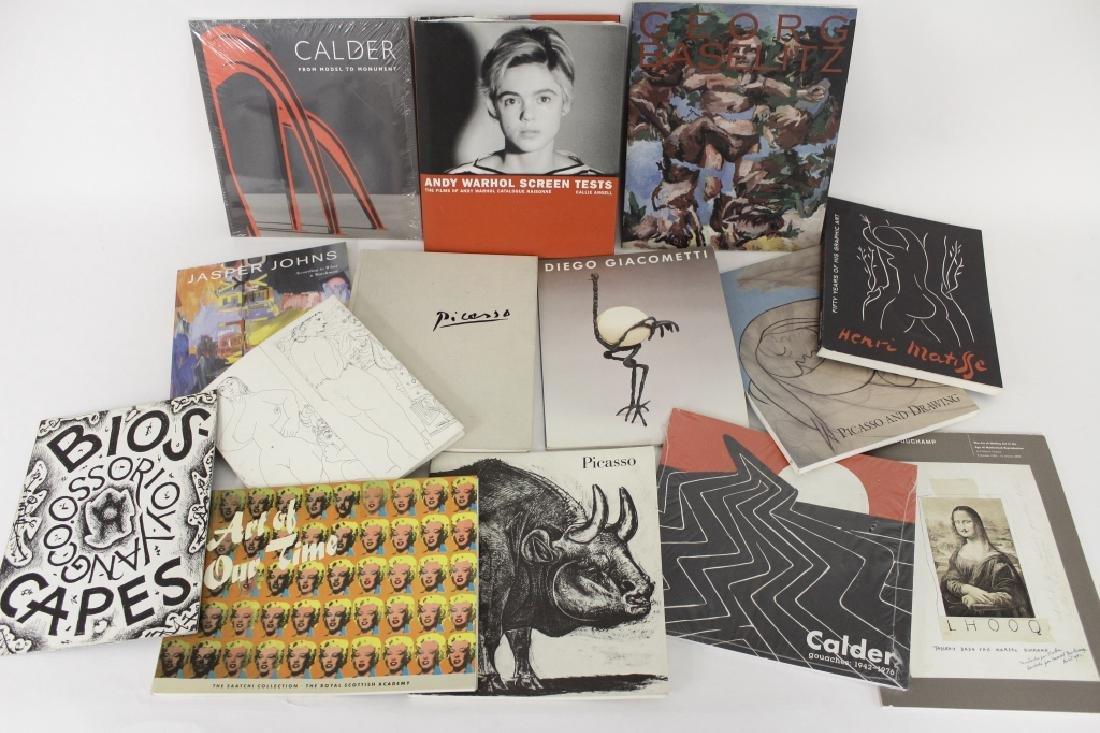 100 Modern Art Books - Picasso Warhol
