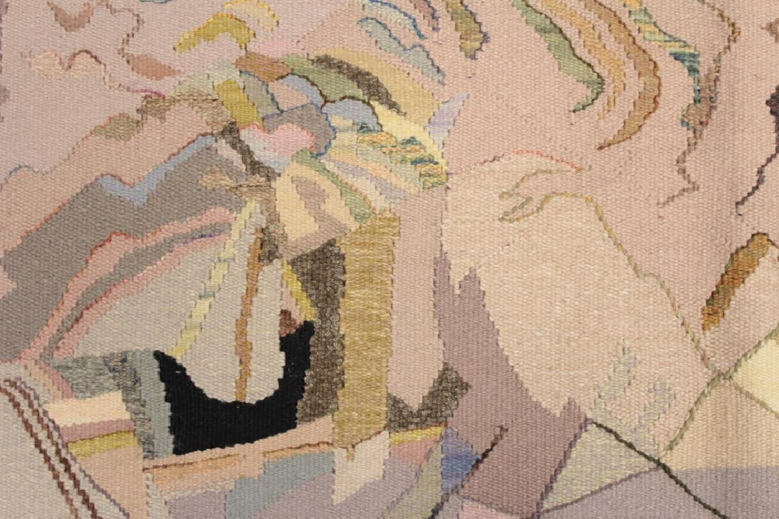 Michelle Lester 1942-2002 Charybdis, Wool Tapestry