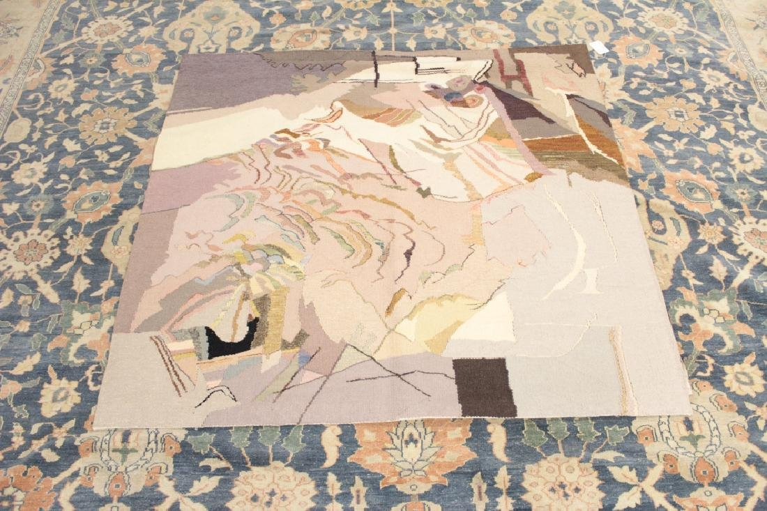 Michelle Lester 1942-2002 Charybdis, Wool Tapestry - 2