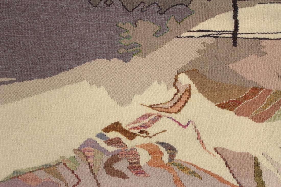 Michelle Lester 1942-2002 Charybdis, Wool Tapestry - 4