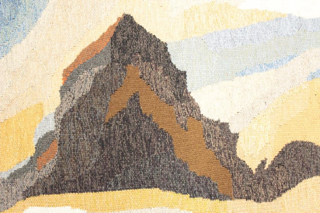 "Doris Bally ""Big Sur II"" Wool Tapestry, 20th c. - 3"