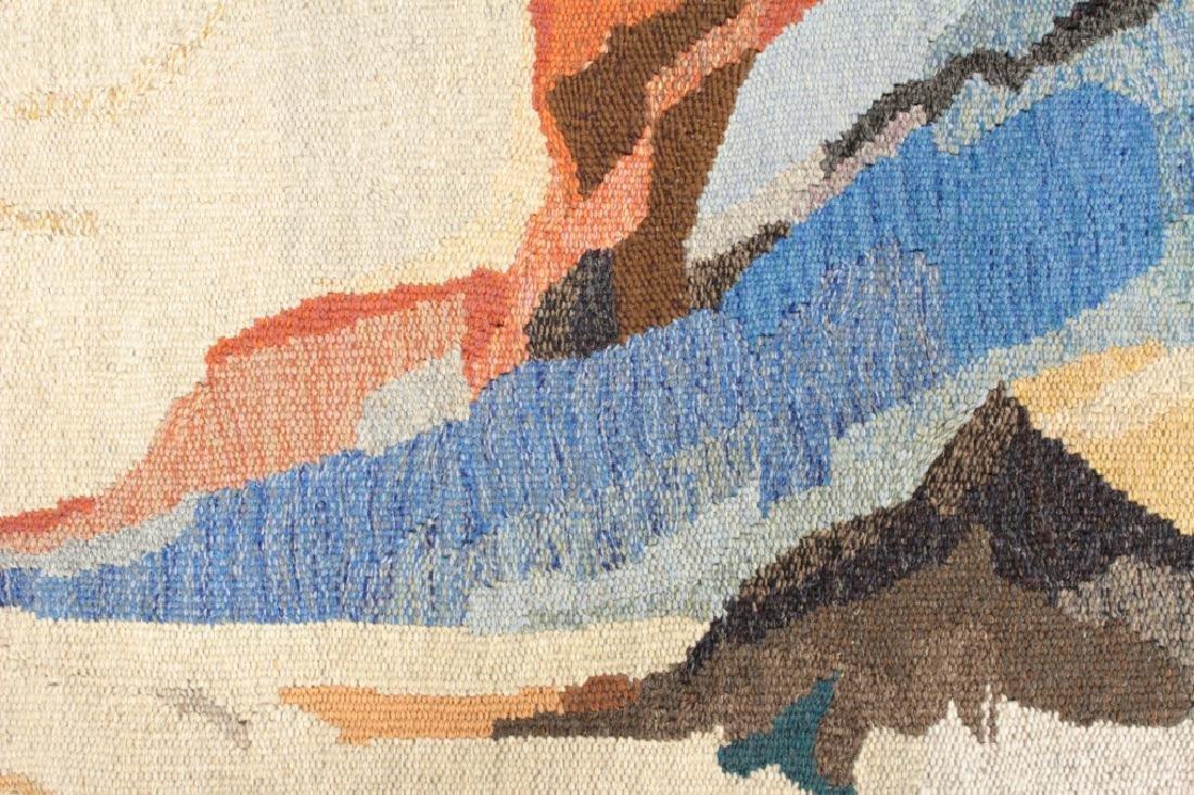 "Doris Bally ""Big Sur II"" Wool Tapestry, 20th c. - 4"