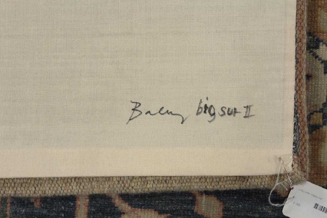 "Doris Bally ""Big Sur II"" Wool Tapestry, 20th c. - 7"
