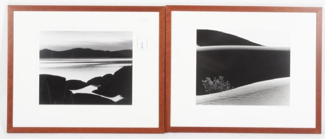 2 M. Nagler Ocean & Desert Silver Gelatin Photos