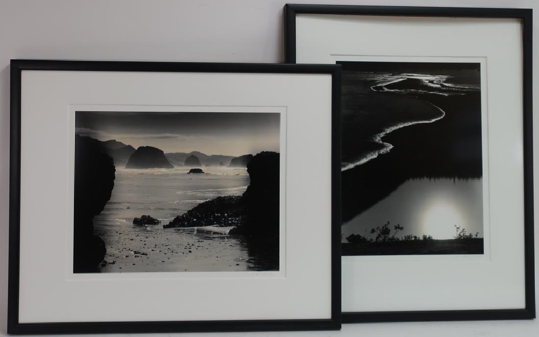 2 Monte Nagler Oregon Coast Silver Gelatin Photos