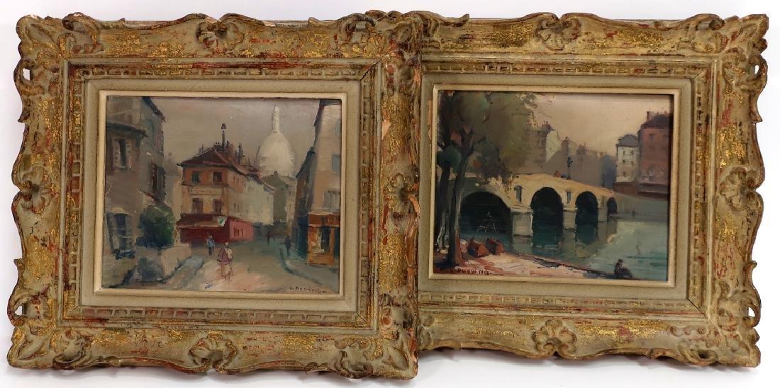 2 Lucien Ducuing Sacre Coeur & Pont Marie O/C
