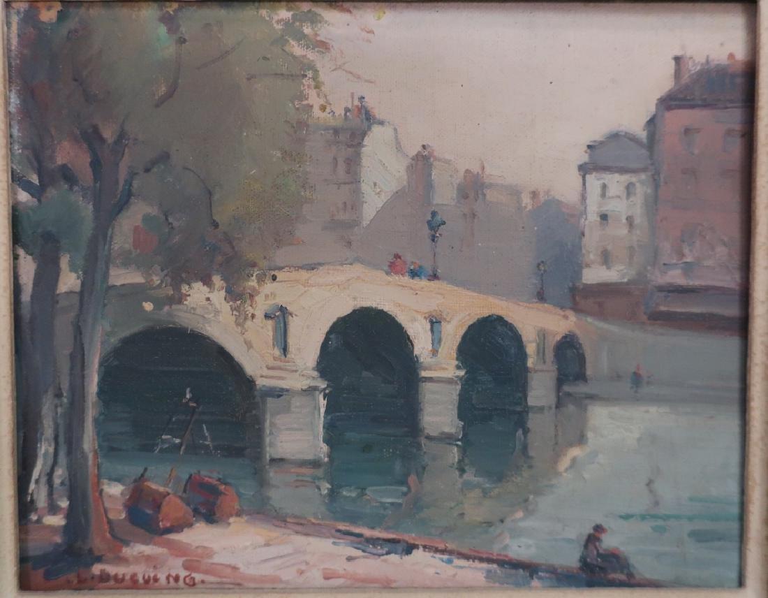 2 Lucien Ducuing Sacre Coeur & Pont Marie O/C - 2