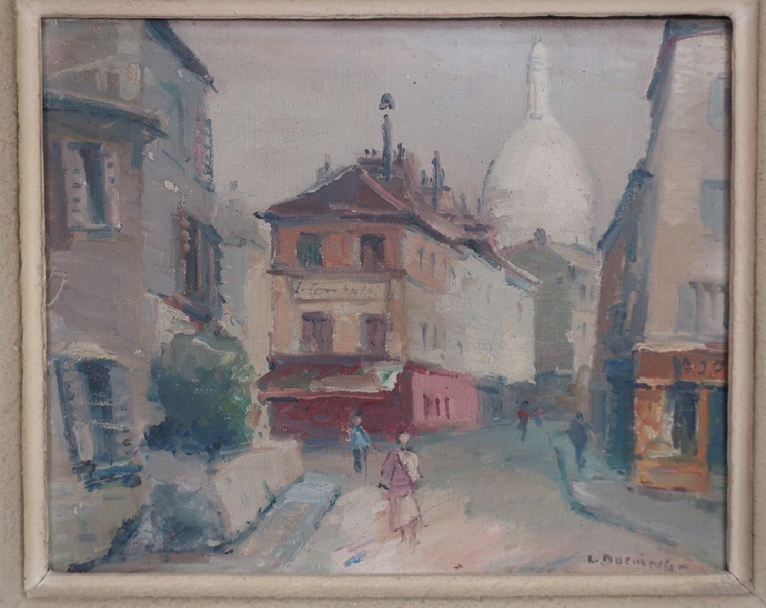 2 Lucien Ducuing Sacre Coeur & Pont Marie O/C - 3