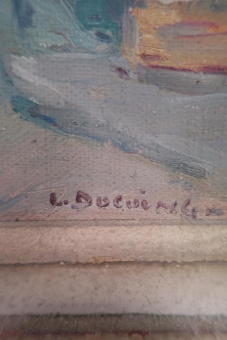 2 Lucien Ducuing Sacre Coeur & Pont Marie O/C - 6