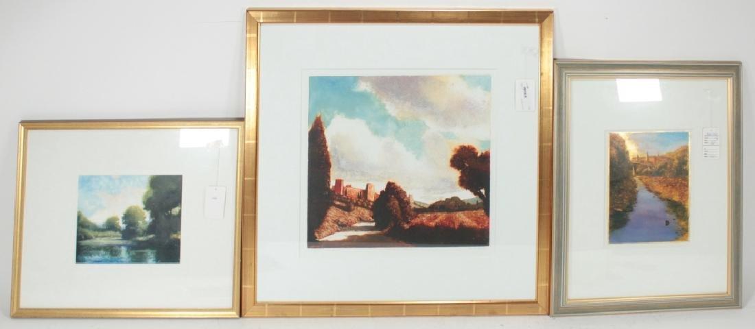 David Dunlop, Am., Contemporary, 3 Artworks