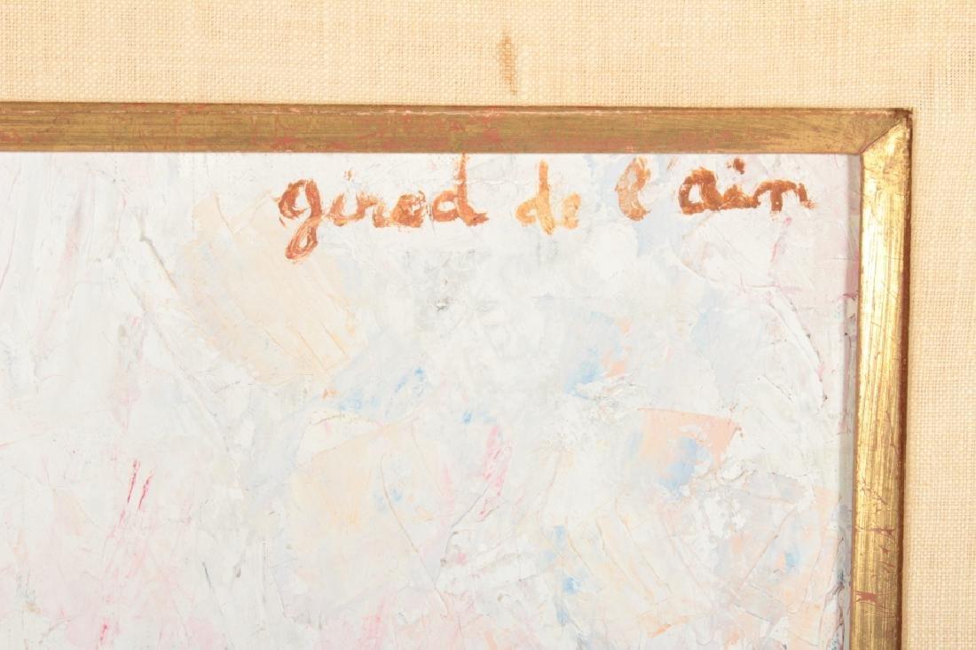 "Girod De L'Ain, Fr., ""Enfants Dessinant"", O/C - 6"