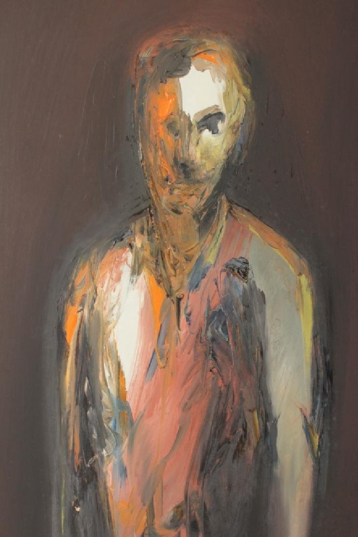 Arnold Weber, Am., Abstract Male Portrait