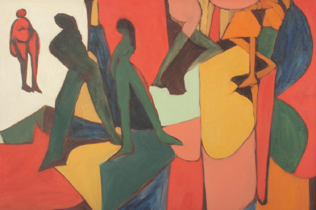 Arnold Weber, Am., Abstract People