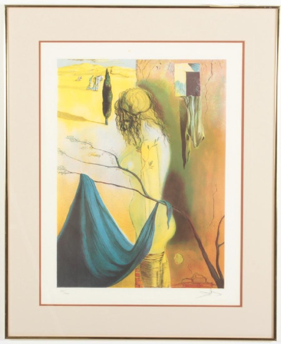 Attr.,Salvador Dali, Signal of Augustine, lithograph