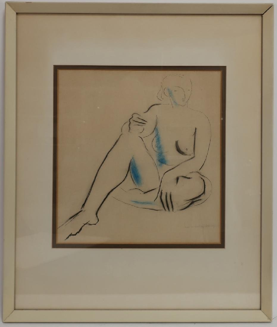 Francis Butterfield, UK, 1905-1968, Nude, '37, W/C - 2