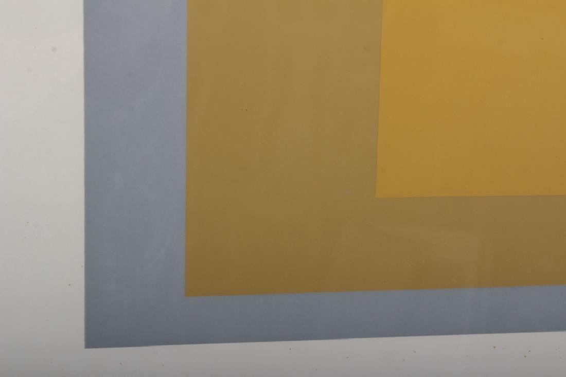 Josef Albers,Ger./Am., Grey/Yellow Squares - 3