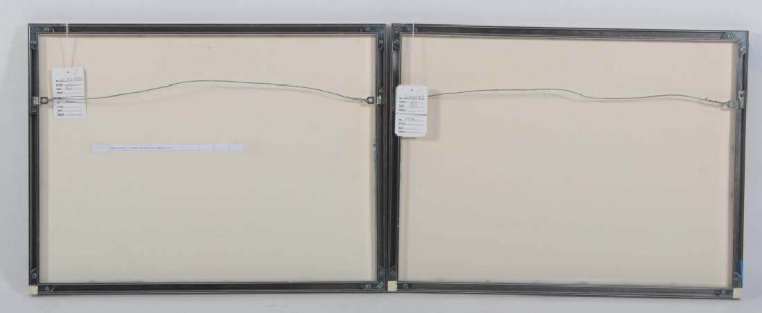 Josef Albers,Ger./Am., Grey/Yellow Squares - 6